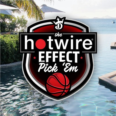 """Just in time for the basketball playoffs, Hotwire® is launching a new edition of the """"Hotwire® Effect"""" game. This """"pick 'em"""" style game will be entirely free to play and features guaranteed prizes totaling $25,000. The new game tips off on May 22, 2021."""