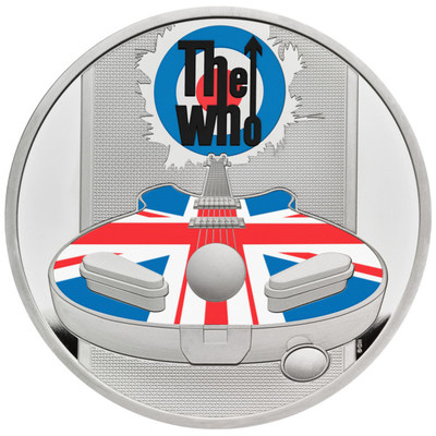 The Royal Mint, the Original Maker of UK coins, has today launched a new range of collectable coins celebrating the iconic British band - The Who. Please see pictured the 2021 UK One Ounce Silver Proof Coin.