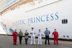 Majestic Princess Crew Members Receive COVID-19 Vaccines At The...