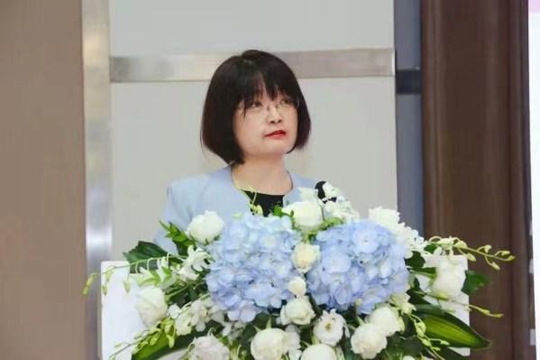 中国妇女发展基金会副秘书长董葵 致辞