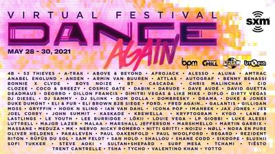 """SiriusXM Presents """"Dance Again Festival"""""""