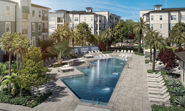 Reach for the sky with upscale modern living at Aventon Alaira in South Orlando, FL!