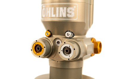 Öhlins TTR with independent hi and low speed compression and rebound adjusters