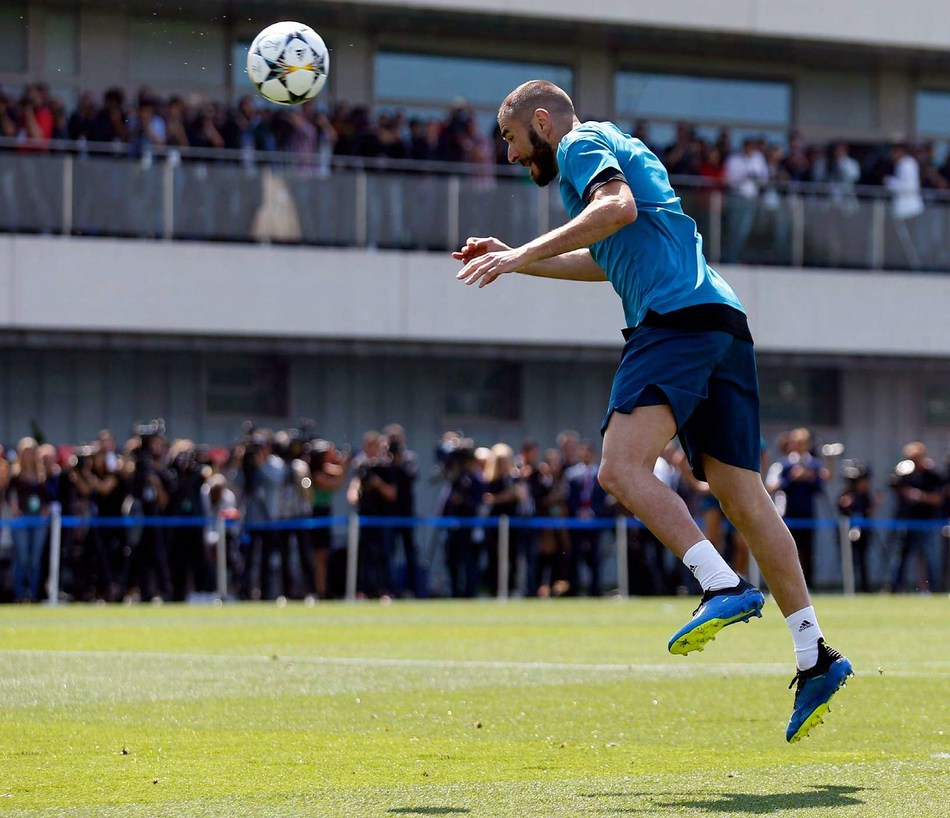 Real Madrid star striker Karim Benzema