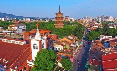 Quanzhou exibe a diversidade cultural da China. (Foto de Chen Yingjie ) (PRNewsfoto/Xinhua Silk Road)