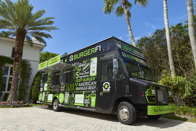 """BurgerFi's New """"Fi on the Fly®"""" Food Truck Ready to Hit the Road"""