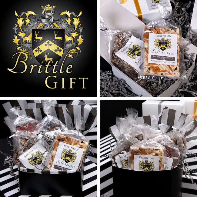 Unique original creations in brittle, specialty chocolate, and liqueur-based English Toffee