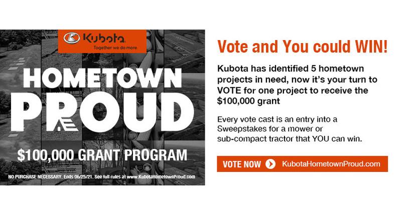 Kubota S Hometown Proud 100 000