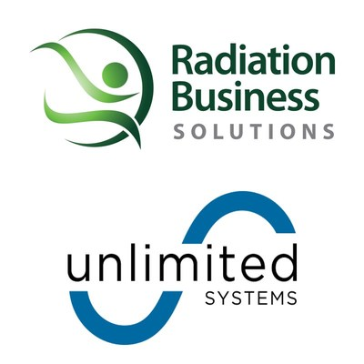 Radiation Business Solutions and Unlimited Systems Logo