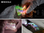 Royole introduces world's first micro-LED based stretchable...