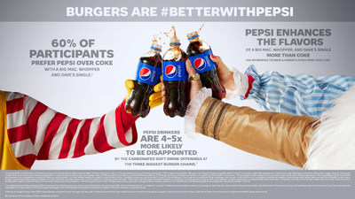 Burgers Go Better with Pepsi