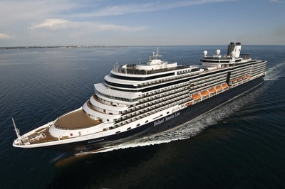 Holland America Line's Eurodam extends 2021 Mediterranean cruise season through October and will sail five 12-day itineraries from Italy, Greece or Spain.