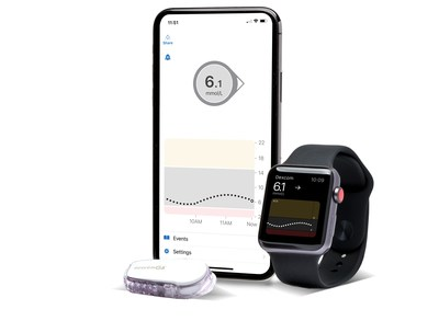 People living with type 1 diabetes, age two years or older, may now receive provincial coverage for the Dexcom G6 CGM System by the Régie de l'Assurance Maladie du Quebec (RAMQ) (CNW Group/Dexcom, Inc.)