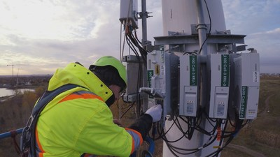 Bell expands Canada's fastest-ranked and most-awarded 5G wireless network in Manitoba (CNW Group/Bell Canada)