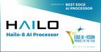 Leading AI Chipmaker Hailo Awarded Edge AI and Vision Product of...