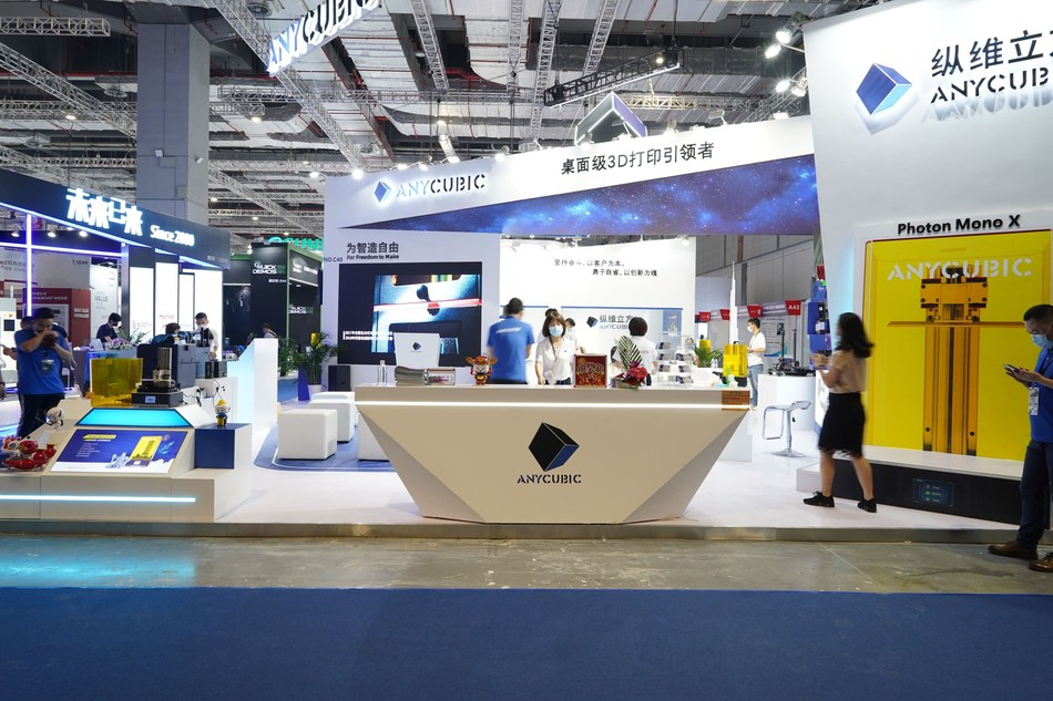 Anycubic attended the TCT Asia on May, 26, Shanghai (PRNewsfoto/Anycubic)