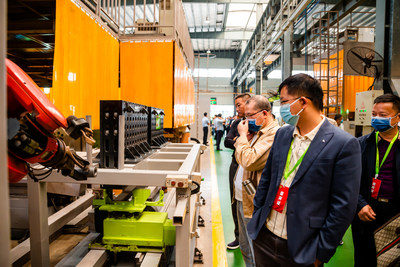 La nouvelle usine de fabrication intelligente de grues à tour de Zoomlion est maintenant pleinement opérationnelle (PRNewsfoto/Zoomlion)