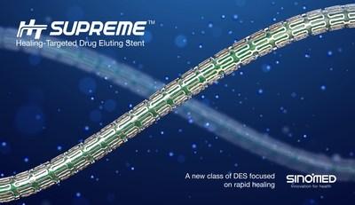 HT Supreme Healing-Targeted Drug Eluting Stent. (PRNewsfoto/SINOMED)