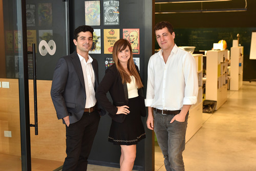 SAM Seamless Network Co-Founders: Eilon Lotem, CTO; Sivan Rauscher, CEO; Shmuel Chafets, Vice Chairman (PRNewsfoto/SAM Seamless Network)
