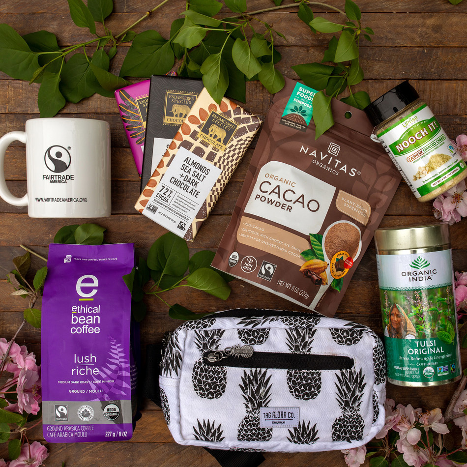 Fairtrade America is partnering with six Fairtrade certified brands to encourage shoppers to make purchases with people and the planet in mind. Enter the giveaway at @fairtrademarkus on Instagram and Facebook to win this bundle of environmentally-conscious, everyday products.