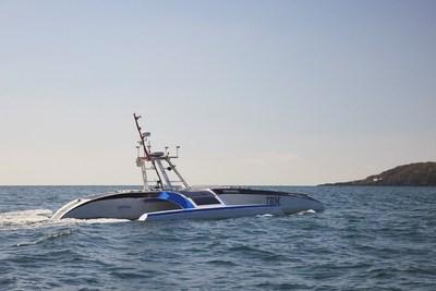 Photo Credit: IBM/Promare - The Mayflower Autonomous Ship equipped with an Iridium Certus terminal.