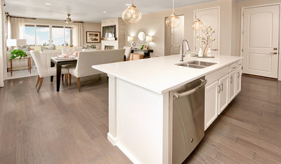 Richmond American's Alexandrite plan will be one of eleven floor plans offered at Villa Bella in Pueblo, Colorado.
