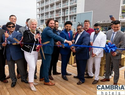 Cambria Hotel Ocean City Grand Opening