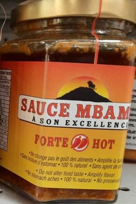 Sauce Mbambi Forte (Groupe CNW/Ministère de l'Agriculture, des Pêcheries et de l'Alimentation)