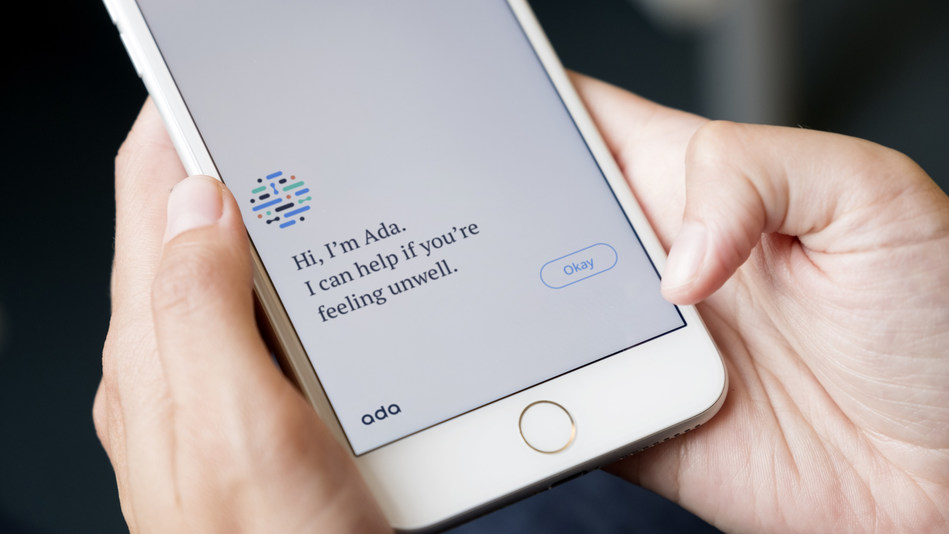 Screenshot of the Ada consumer app