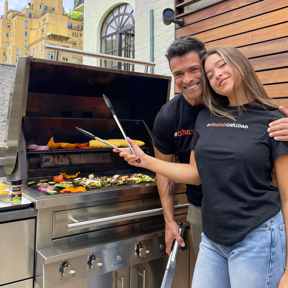 McCormick® Grill Mates® Joins Forces with Actor Mark Consuelos to Launch #GirlDadGrillDad Social Media Challenge to Fight Food Insecurity