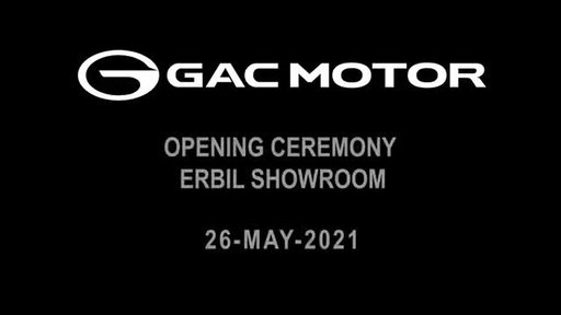 New GAC MOTOR Showrooms Open in Iraq - Expanding Brand Influence