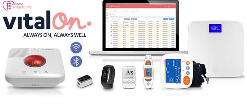 Essence SmartCare Launches VitalOn Remote Patient Monitoring Solution