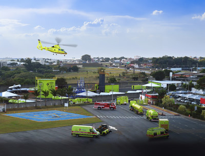 Ambipar's emergency response operations has more than 150 bases strategically located in 16 countries in South America, North America, Africa, Europe and Antarctic