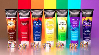 John Frieda Hair Care Pride Teleties