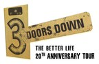 """3 Doors Down Announce """"The Better Life 20th Anniversary Tour"""""""