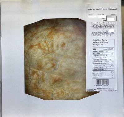 Pâté au poulet frais (Mayrand) (Groupe CNW/Ministère de l'Agriculture, des Pêcheries et de l'Alimentation)
