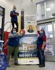 Lowe's Canada amasse un montant record de 1,2 M$ pour Opération Enfant Soleil et Children's Miracle Network