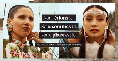 POUR SOULIGNER LE MOIS NATIONAL DE L'HISTOIRE AUTOCHTONE (Groupe CNW/Sephora Canada)