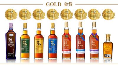 Kavalan recebeu 8 Golds na TWSC de 2021
