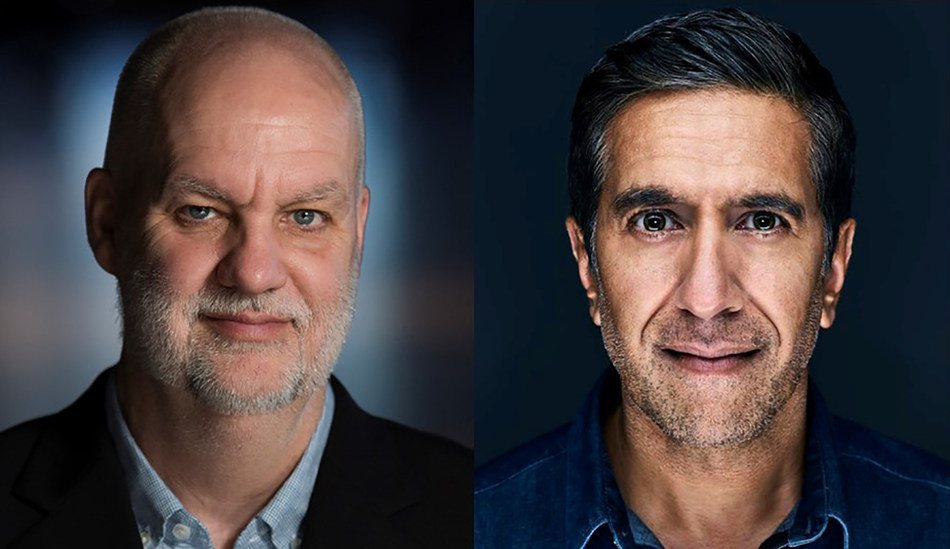 The Canadian Journalism Foundation's Tribute Talk features André Picard, health reporter and columnist for The Globe and Mail, and Dr. Sanjay Gupta, chief medical correspondent for CNN, in back-to-back conversations on June 10 at 1 p.m. ET. (CNW Group/Canadian Journalism Foundation)
