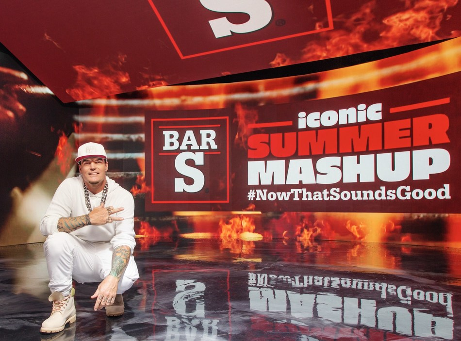 """Bar-S launches """"Iconic Summer Mashup"""", gives fans the chance to star alongside Vanilla Ice in a Bar-S parody music video."""
