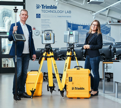 KTH Royal Institute of Technology in Sweden to Establish TrimbleTechnology Lab for Architecture, Engineering and Construction