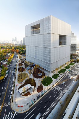 Amorepacific Global HQ Located in Yongsan, Seoul, South Korea