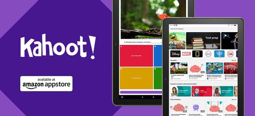 Kahoot! available in Amazon Appstore