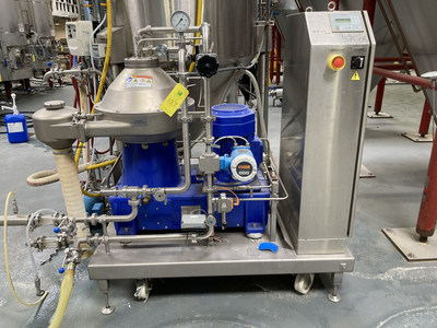 This Alfa Laval Centrifuge is among the items up for bid in June 17 online auction of assets from a 30-barrel brewhouse in Eureka, Calif. (PRNewsfoto/Tiger Group)