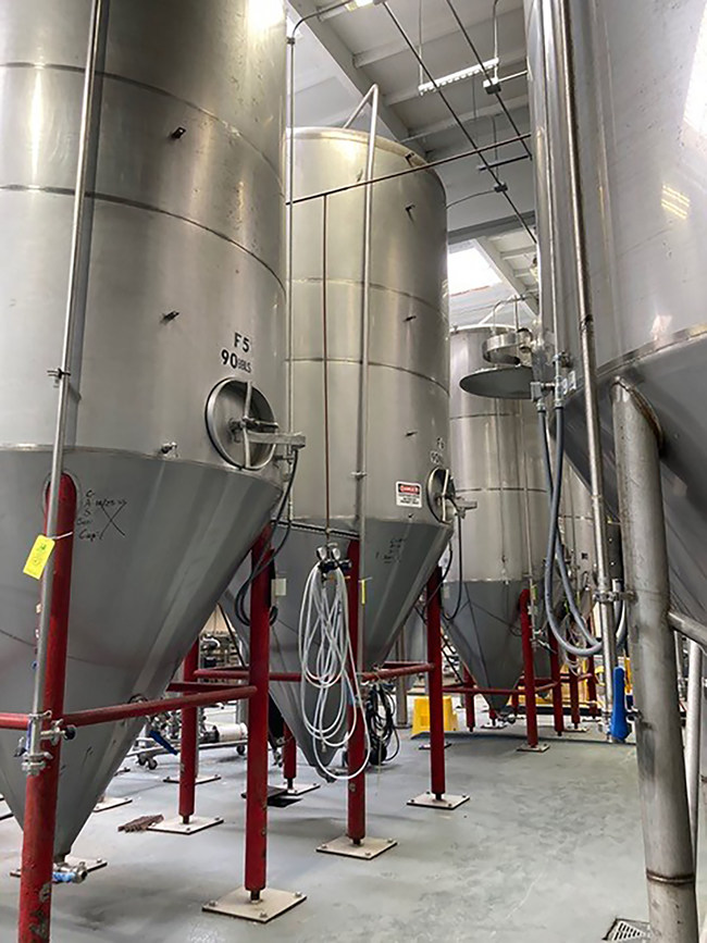 Other available assets with applications for multiple industries include more than twenty 30bbl - 90 bbl stainless steel tanks. (PRNewsfoto/Tiger Group)
