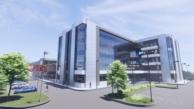 Yourway's new expansion building render 1