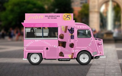 GODIVA Paints the Town Pink, Celebrating 95 Sweet Years of Craftsmanship and Wonder with New York Sampling Activation