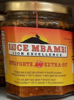 Sauce Mbambi Extra-forte (Groupe CNW/Ministère de l'Agriculture, des Pêcheries et de l'Alimentation)
