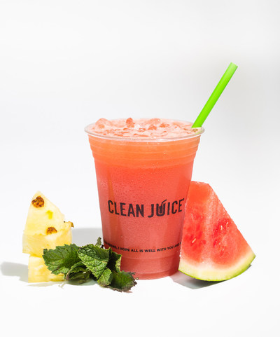 THE HYDRATING ONE FRESH JUICE - this summer concoction is made with watermelon, pineapple and mint (all organic ingredients). The Hydrating One is the perfect way to refresh and rejuvenate while spending time outdoors at the beach, the park, or just hanging out in the backyard with friends and family.